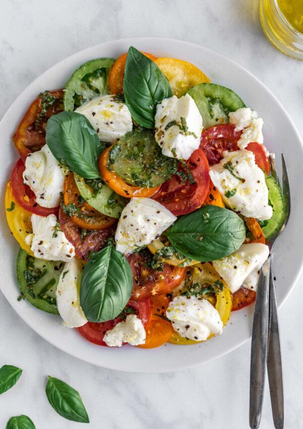 Tomatoes and Burrata Salad