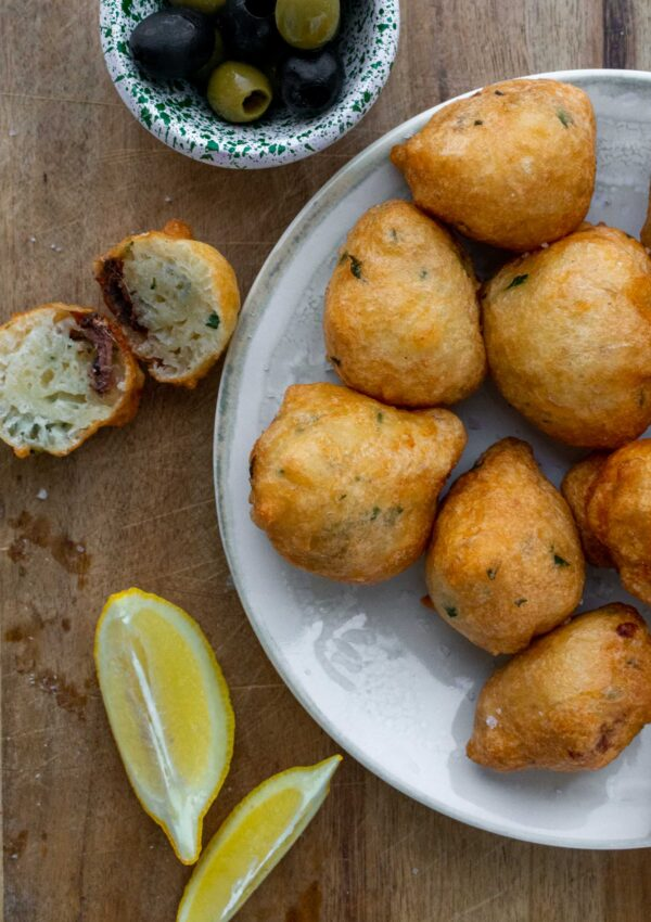 Sfineġ tal-Inċova – Traditional Maltese Anchovy Fritters